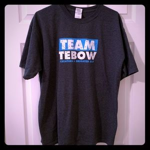 Tops - Tim Tebow charity t-shirt unisex size XL